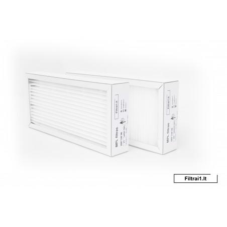 DOMEKT R 200 VFILTRŲ KOMPLEKTAS 285X130X46 F7