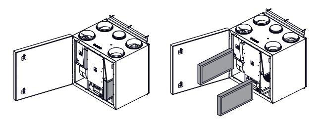 komfovent filtrų keitimo instrukcija